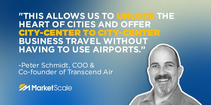 NYC TO BOSTON IN 36 MINUTES WITH PETER SCHMIDT, COO OF TRANSCEND AIR
