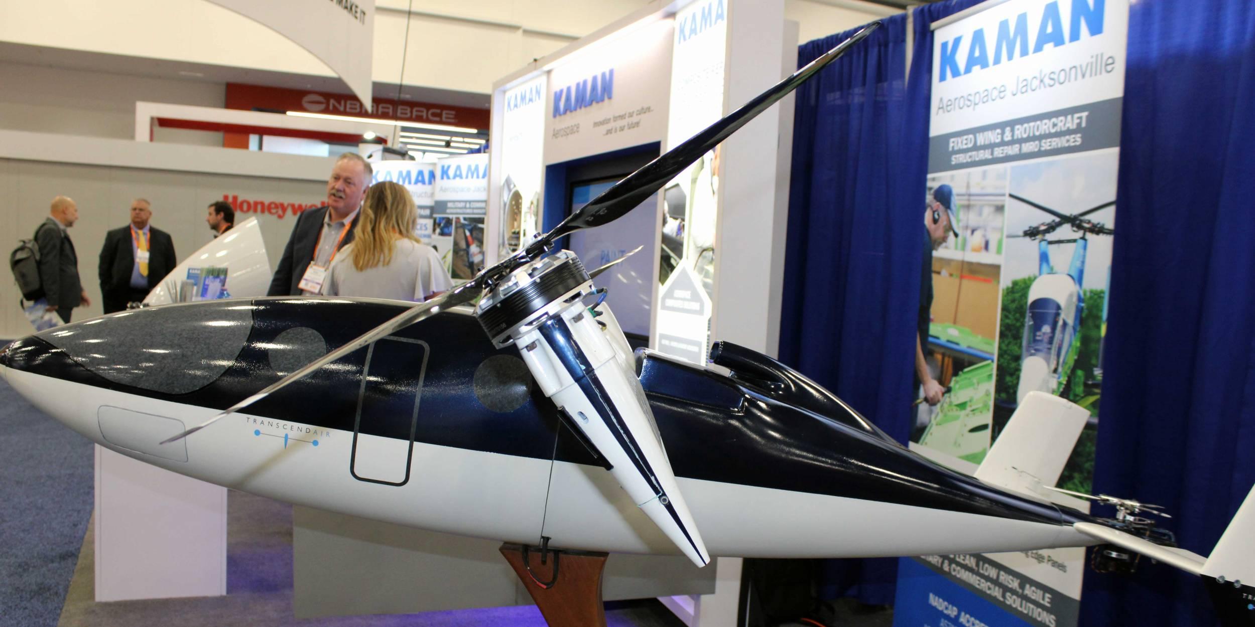 Vy 400 prototype on display at NBAA