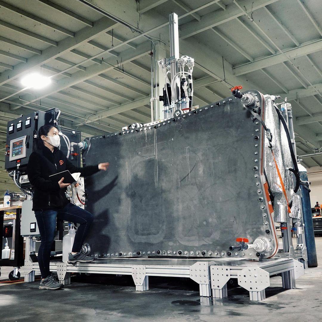 Prometheus reactor prototype