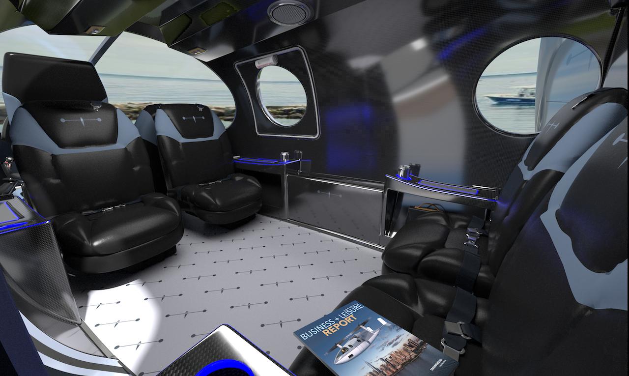 Vy 400R Light Comfort Interior
